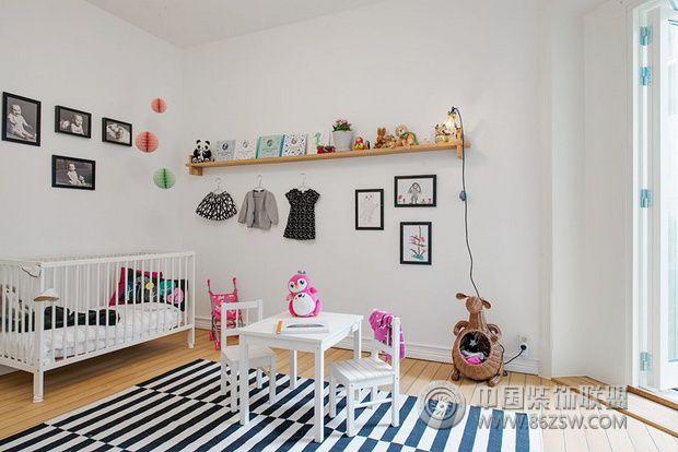 107平米三居欧式风格-儿童房装修图片