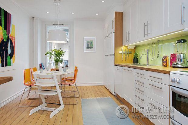 107平米三居欧式风格-厨房装修图片