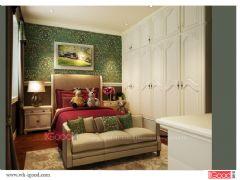 宣城碧水豪庭别墅设计完成中式风格别墅
