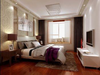 欧式乡村风格复式楼案例欣赏-卧室装修效果图-八六()