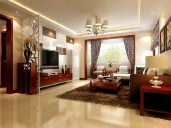 新中式风格四居设计欣赏