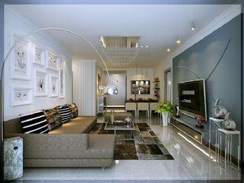 67平米現代一居室設計案例