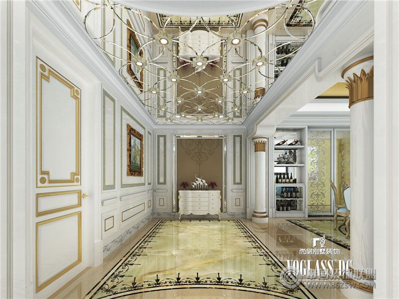 板间设计 过道装修效果图 八六 中国 装饰联盟装修效果图库