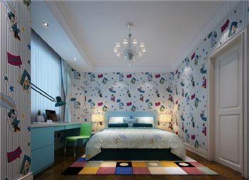 260平北欧风格五居设计图欧式风格儿童房装修图片