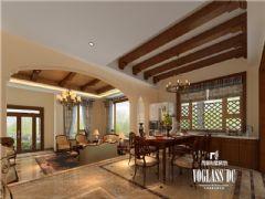 东山国际传世家宝美式风格案例美式风格别墅