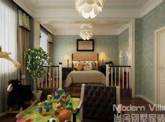 国华印象别墅古典风格儿童房装修图片