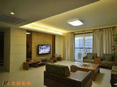 中式风格大户型四居室古典风格四居室
