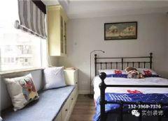 实景案例90㎡美式风格家秋日狂想美式风格儿童房装修图片