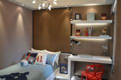 武漢天縱城樣板房設計案例現代風格兒童房裝修圖片
