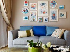 兰州新康家园92.76㎡纯净北欧欧式风格二居室