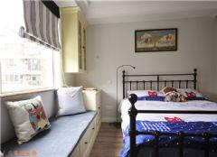 木格裝飾美式風格美式風格兒童房裝修圖片