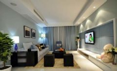木格装饰:现代风格现代风格二居室
