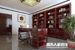 新中式风格中式风格三居室