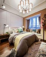 实景93㎡新康花园现代前卫生活空间简约风格卧室装修图片