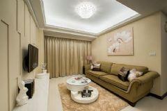 100平现代风格甜蜜室内设计现代风格三居室