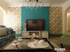 香溪左岸田园风格三居室