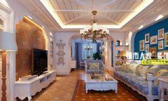 风尚米兰地中海风格三居室