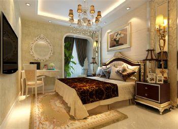 欧式古典风格三居设计图古典风格卧室装修图片