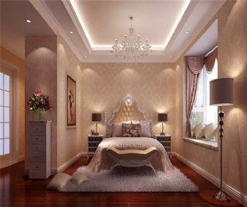 现代简约三居效果图简约风格卧室装修图片