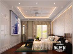 三盛翡俪山欧式风格装修案例欧式风格卧室装修图片