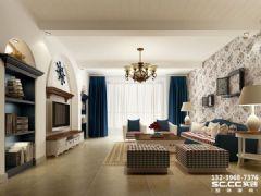 兰州安澜祥园159㎡地中海风格地中海风格三居室