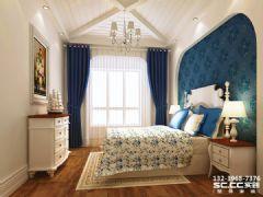兰州安澜祥园159㎡地中海风格地中海风格卧室装修图片