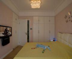 暖暖的宅  现代简约现代风格卧室装修图片