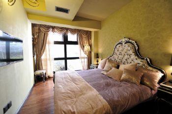 新式混搭别墅装修案例混搭风格卧室装修图片