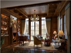 托斯卡纳风格的装修设计美式风格阳台装修图片
