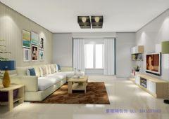 北美风情美式风格三居室
