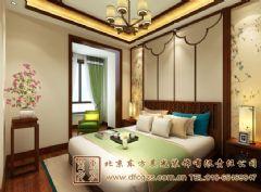 小清新中式装修家居设计中式风格卧室装修图片