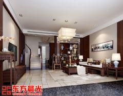 三层别墅中式装修设计中式风格别墅