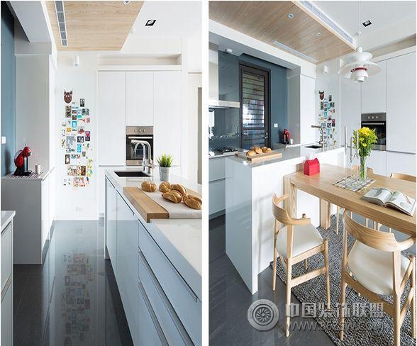北欧风格小户型设计图-厨房装修图片