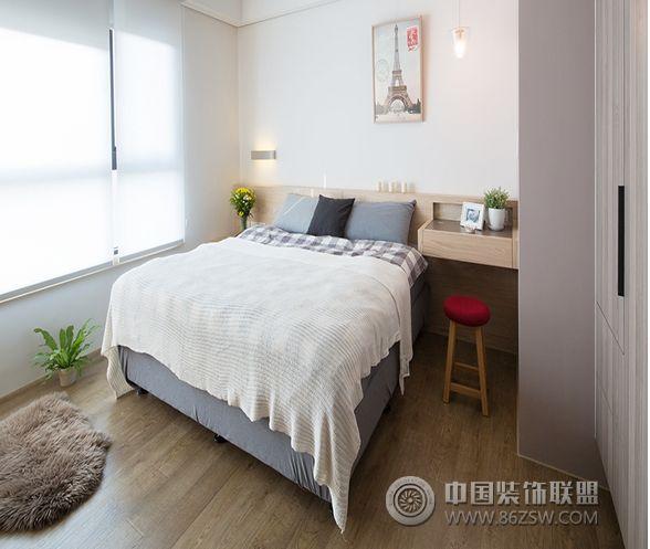 北欧风格卧室装修案例简约风格卧室装修效果图图片