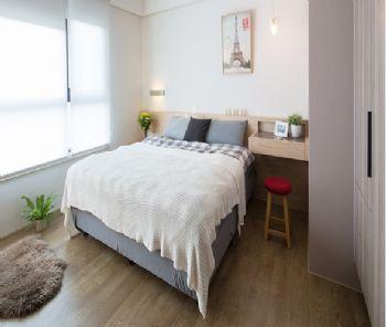 北欧风格小户型设计图简约风格卧室装修图片