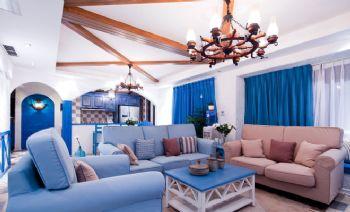 地中海蓝色风情装修案例