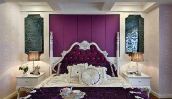 美式地中海混搭风格混搭风格卧室装修图片