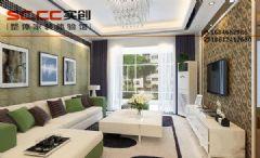 K2玉兰湾B3户型90平装修-诗意简约之美现代风格二居室