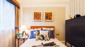 110平古典奢华三居设计古典风格儿童房装修图片