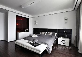 新中式风格别墅装修案例卧室装修图片