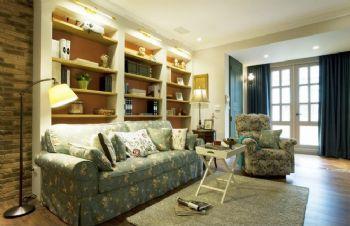 田园风格二居室装修案例
