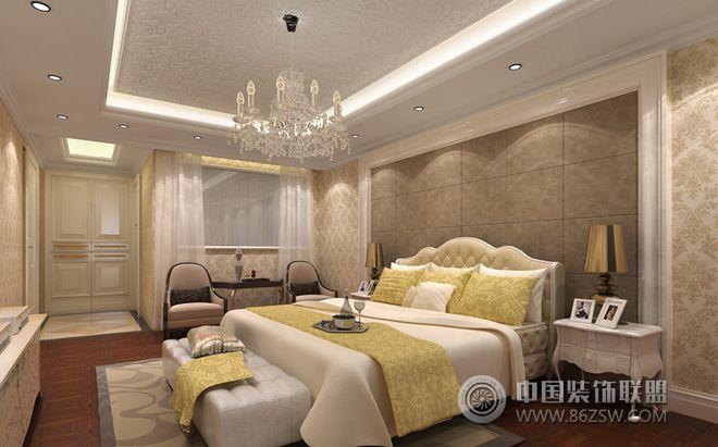 酒店式别墅设计图片-卧室装修效果图-八六(中国)装饰