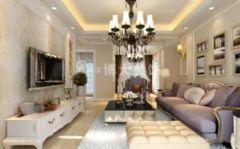 【淮南博大装饰】淮南瀚城装修设计,把欧式浪漫带回家欧式风格三居室