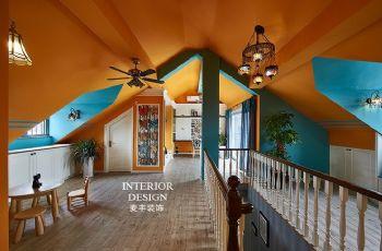 美式简约大户型装修案例欣赏美式风格阁楼装修图片