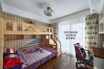 美式簡約大戶型裝修案例欣賞美式風格兒童房裝修圖片