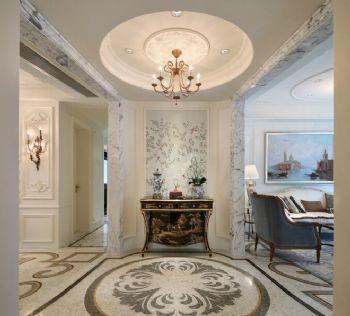 巴洛克歐式大宅設計案例歐式風格玄關裝修圖片