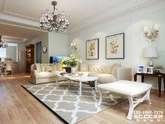 天成·金色堤岸142㎡欧式元素欧式风格三居室