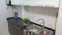 蘭州實創裝飾裝修錦河丹堤111㎡簡約現代現代風格廚房裝修圖片