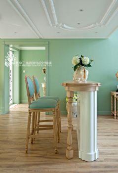 法式风格马卡龙别墅设计案例简约风格厨房装修图片