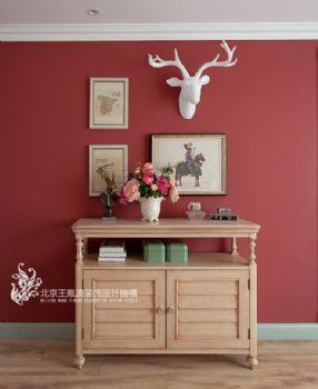 法式风格马卡龙别墅设计案例简约风格过道装修图片